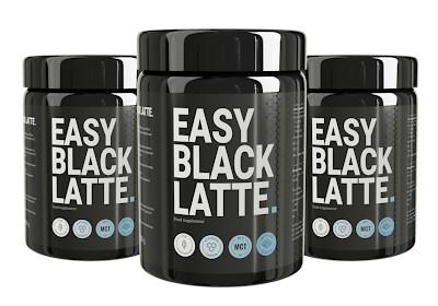 easy black latte for